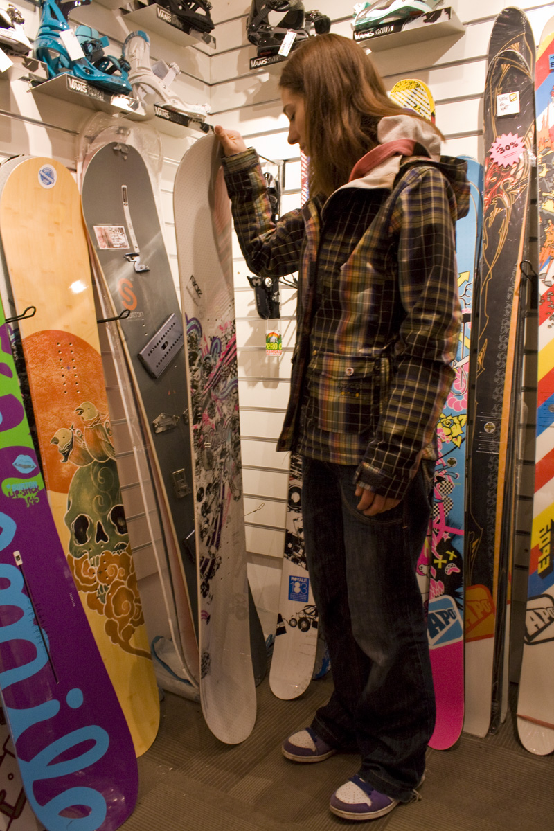 Snowboard size how to choose an appropriate board choosing a snowboard geenschuldenfo Gallery