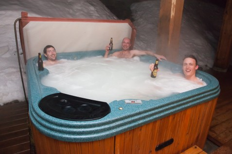 Red Mountain hot tub