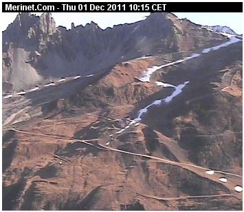 Meribel webcam 1st Dec 2011