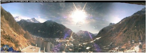 Val d'Isere webcam 1st Dec 2011