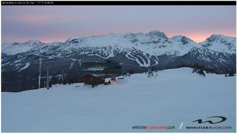 Whistler webcam 1st Nov 2011