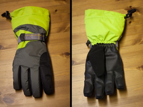 Aldi ski gloves