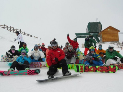 Trainee Snowboard Instructors