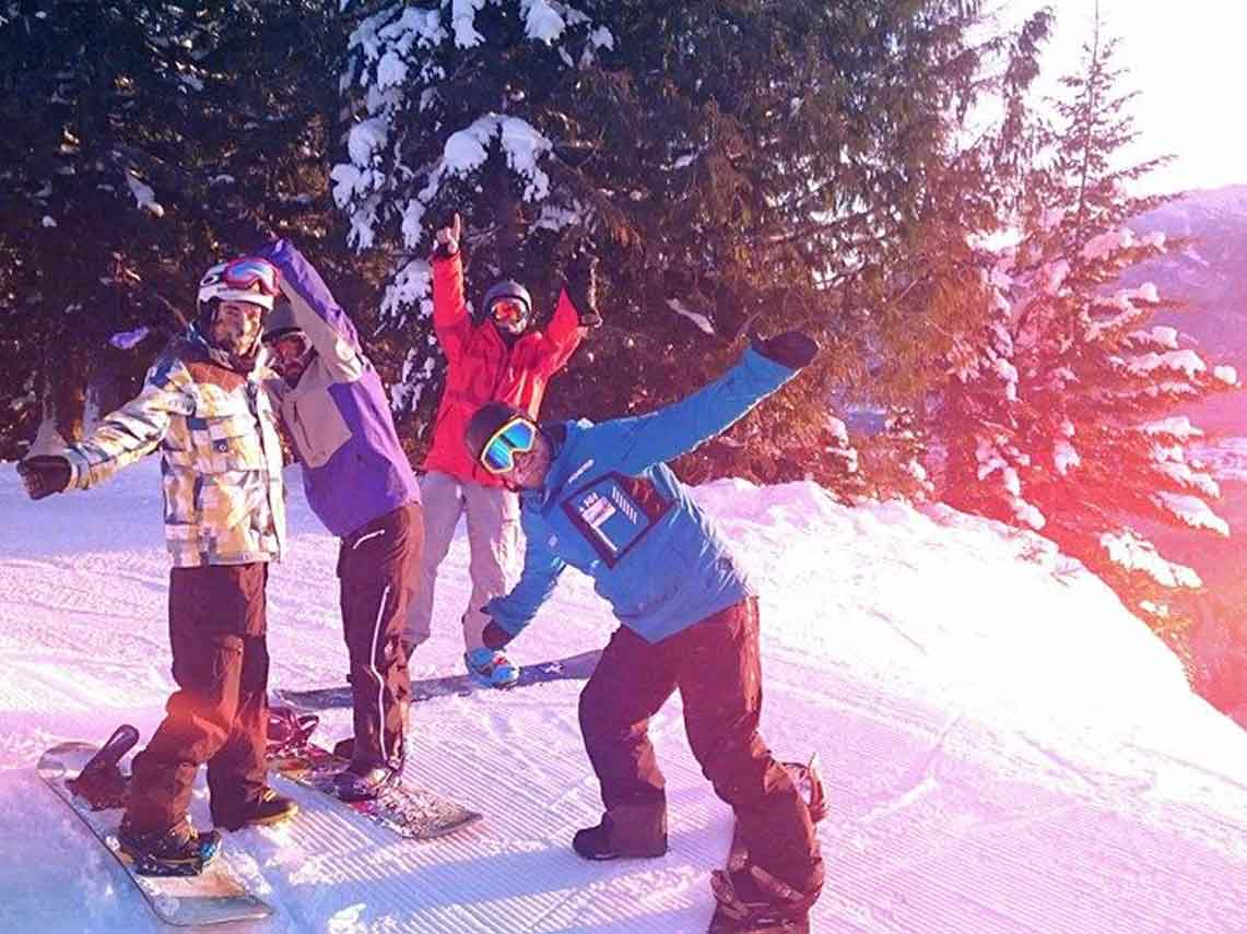 Fernie Course Diary - New Year Camps
