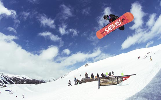 1 Week Freestyle Snowboard Course